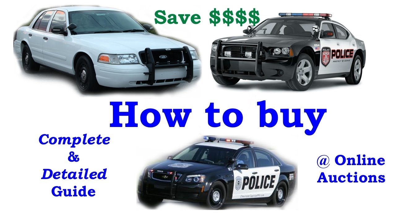 Buying Police Auction Cars - YouTube