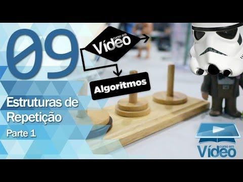 Estruturas de Repetição 1 - Curso de Algoritmos #09 - Gustavo Guanabara