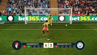 Bournemouth vs Manchester United | Penalty Shootout | PES 2019 Gameplay PC