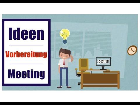 TU DU für eine neue Meeting-Kultur - Ideen zur Vorbereitung eines Präsenz-Meetings