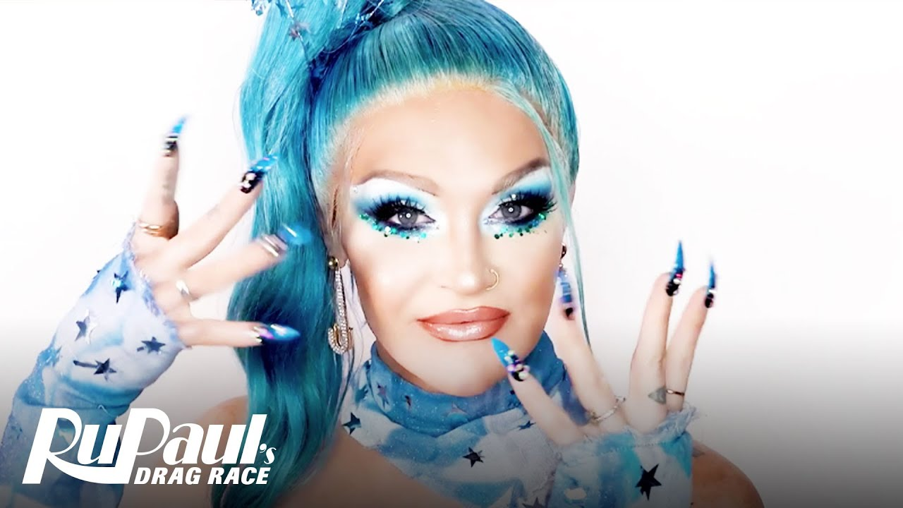 Download Kylie Sonique Love's Starry Blue Look 💙 Ruvealing the Look | RuPaul's Drag Race AS6