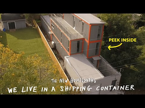 Scotty Davis - Could You Live In A Shipping Container? This Couple Built A House Of Them