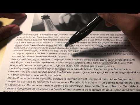 Français Article IV - Le médecin qui soigne la gueule de bois en 45 minutescompagnie