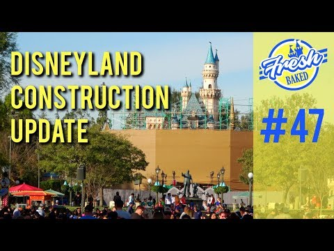Project Stardust - Disneyland Construction | 01/26/19 pt 47