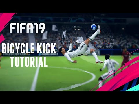 FIFA 19 TUTORIAL - How To Score a Bicycle Kick