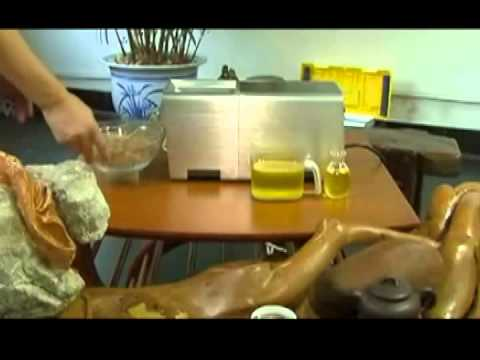 Home Oil Press Make Oil At Home Youtube