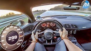 2019 Audi R8 Performance - 0-300 km/h acceleration🏁