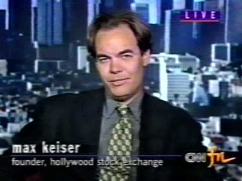 Max Keiser on CNN Financial HSX Interview