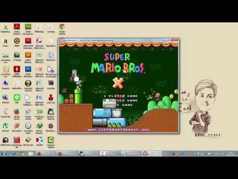 ดาวน์โหลด Super Mario Bros X เกมส์มาริโอ้