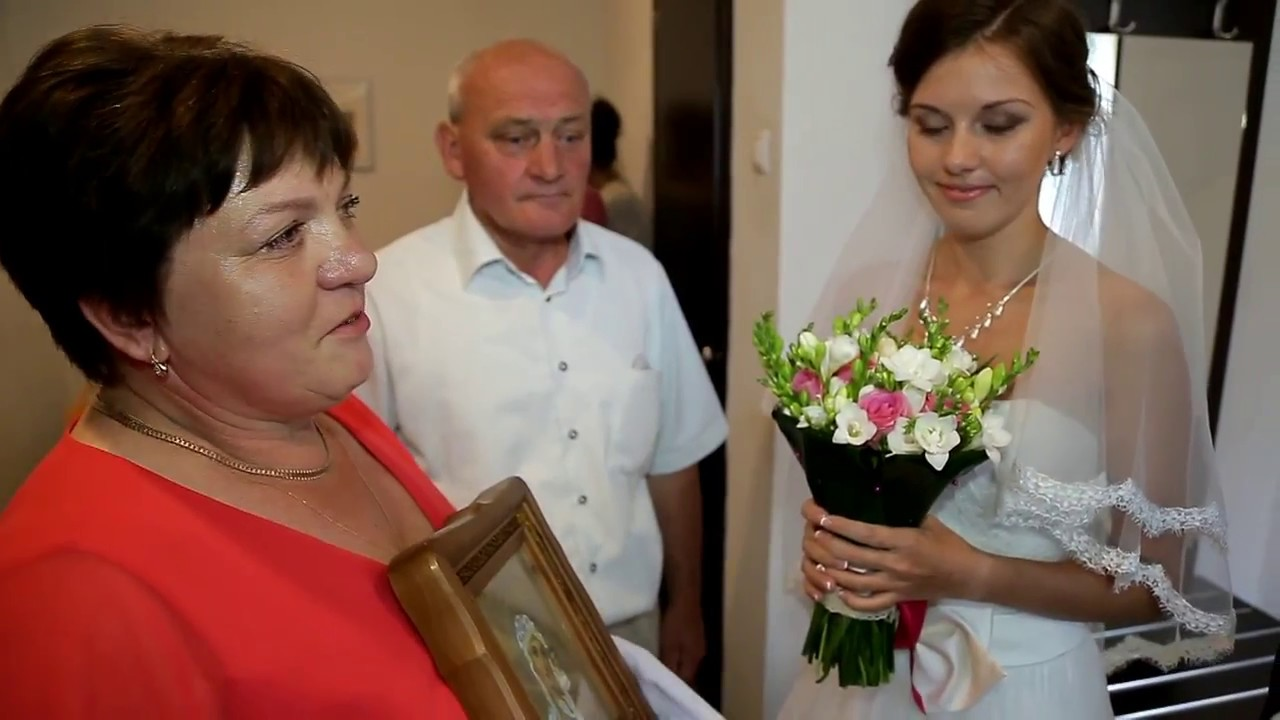 Благословение дочери на свадьбу от мамы видео