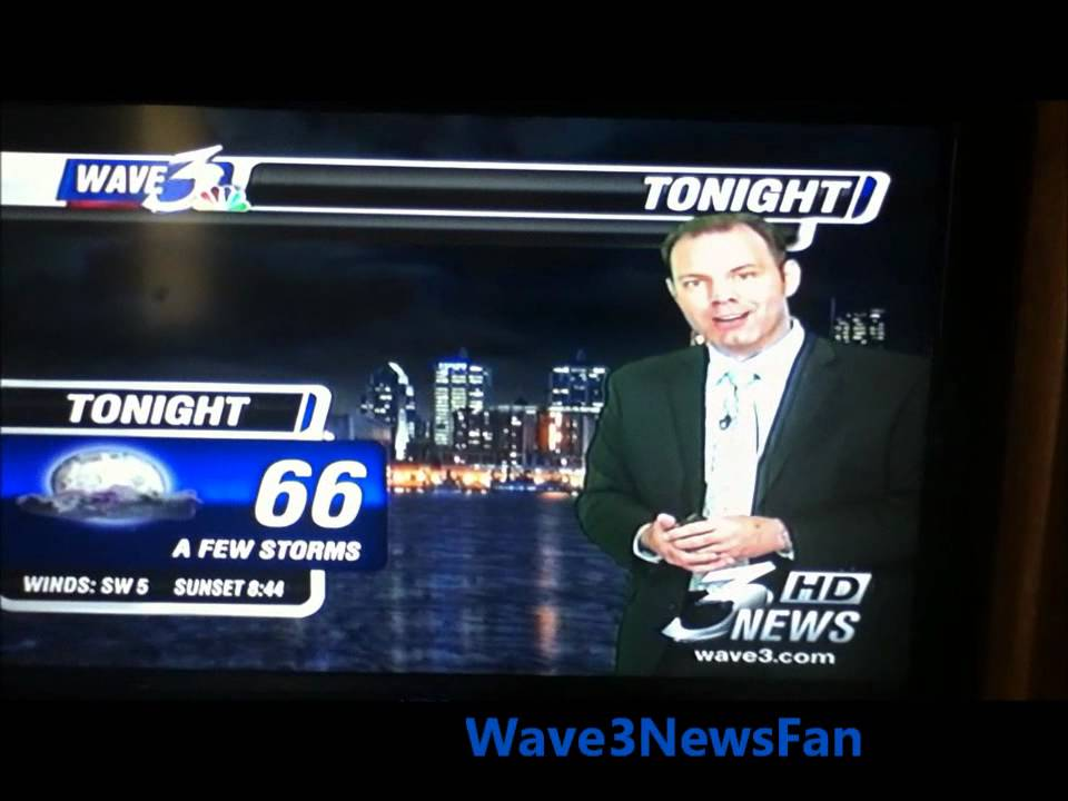Weather With Kevin 5-12-11 (Wave 3 News)