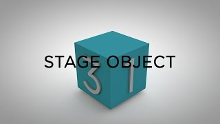 Lesson 6 - The Stage Object - Cinema 4D