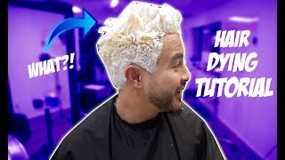 I DYED MY HAIR! FROM BLACK TO....?