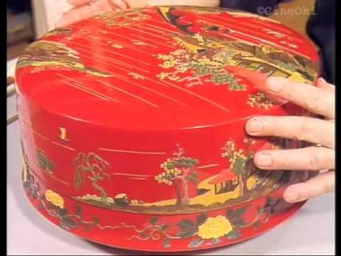琉球漆器 -堆錦- - YouTube