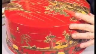 琉球漆器 -堆錦-