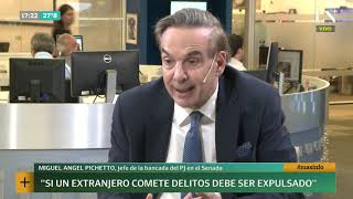 Miguel Pichetto: entrevista exclusiva de Luciana Vázquez en +INFO por LN+