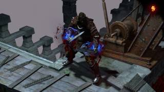 Path of Exile: Gore Herald Skill Effect