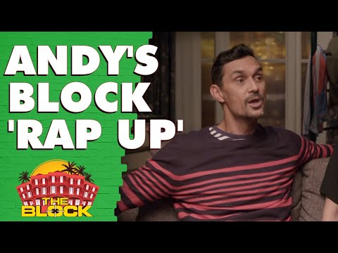 Andy performs a rap about The Block | The Block 2019