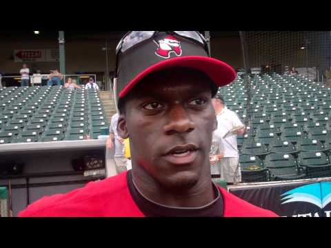 All Star Game Interview   Jared Mitchell Birmingham Barons