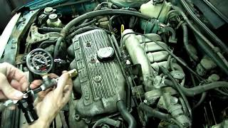 Cracked Cylinder Head Blown Head Gasket
