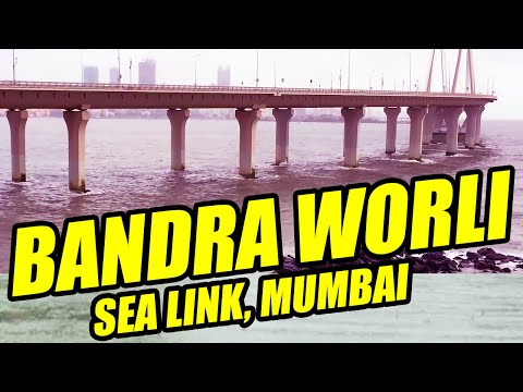 Bandra Worli Sea Link Mumbai Maharastra India | bandra worli sea link video | Mumbai | India Bridge