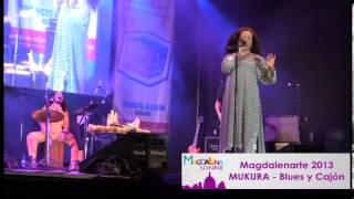 Mukura Blues y Cajón en Vivo en el Magdalenarte organizado por la Municipalidad de Magdalena