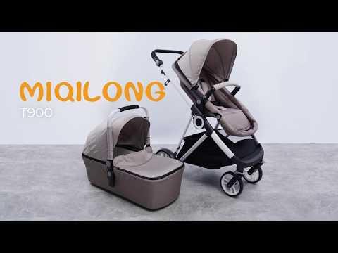 видео: miqilong mi baby t900 - відеоогляд універсальної коляски 2в1