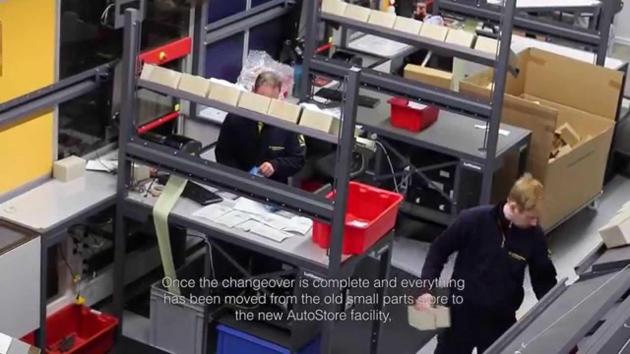 Lufthansa Technik Autostore C Youtube