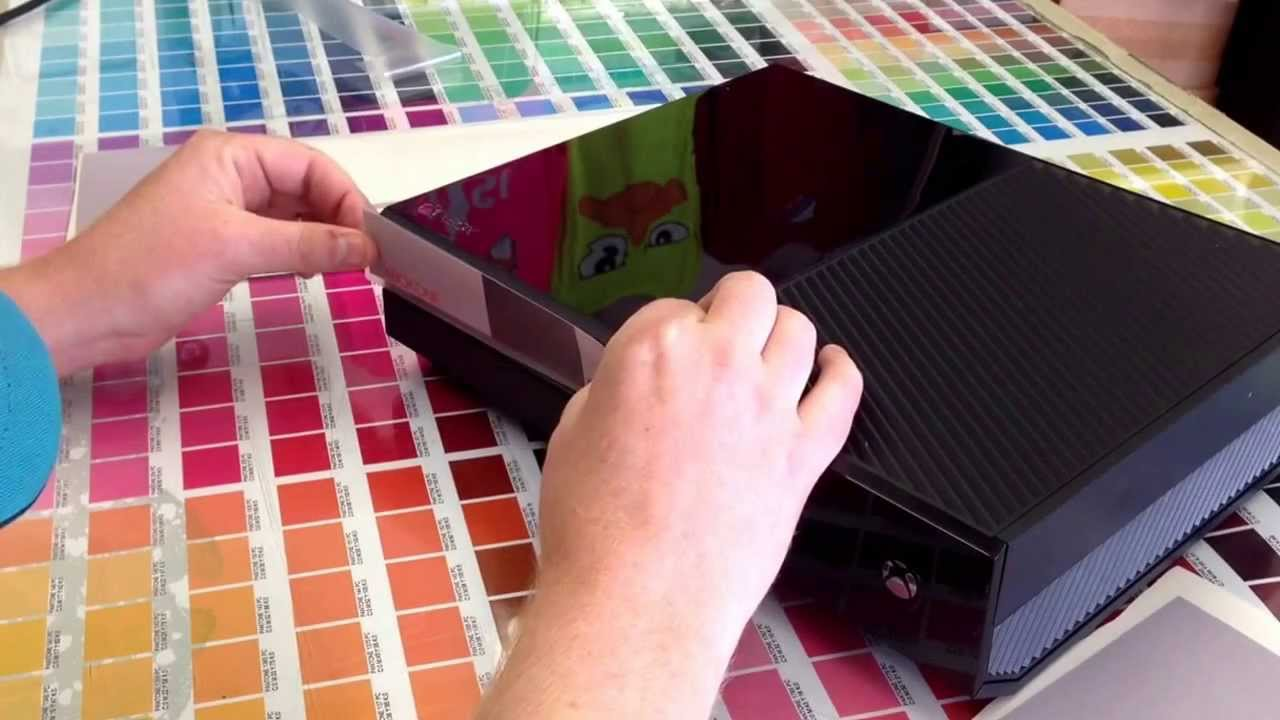 Xboxone xbox one 1 wrap skin nes install - YouTube