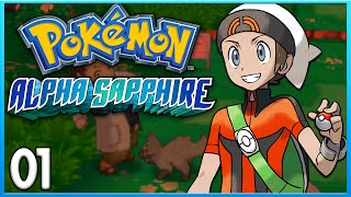 Pokemon Alpha Sapphire Part 1 - A New Adventure! ORAS Gameplay Walkthrough
