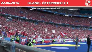 Island - Österreich // Iceland - Austria 2:1, 22.6.2016 (Hurricanes)