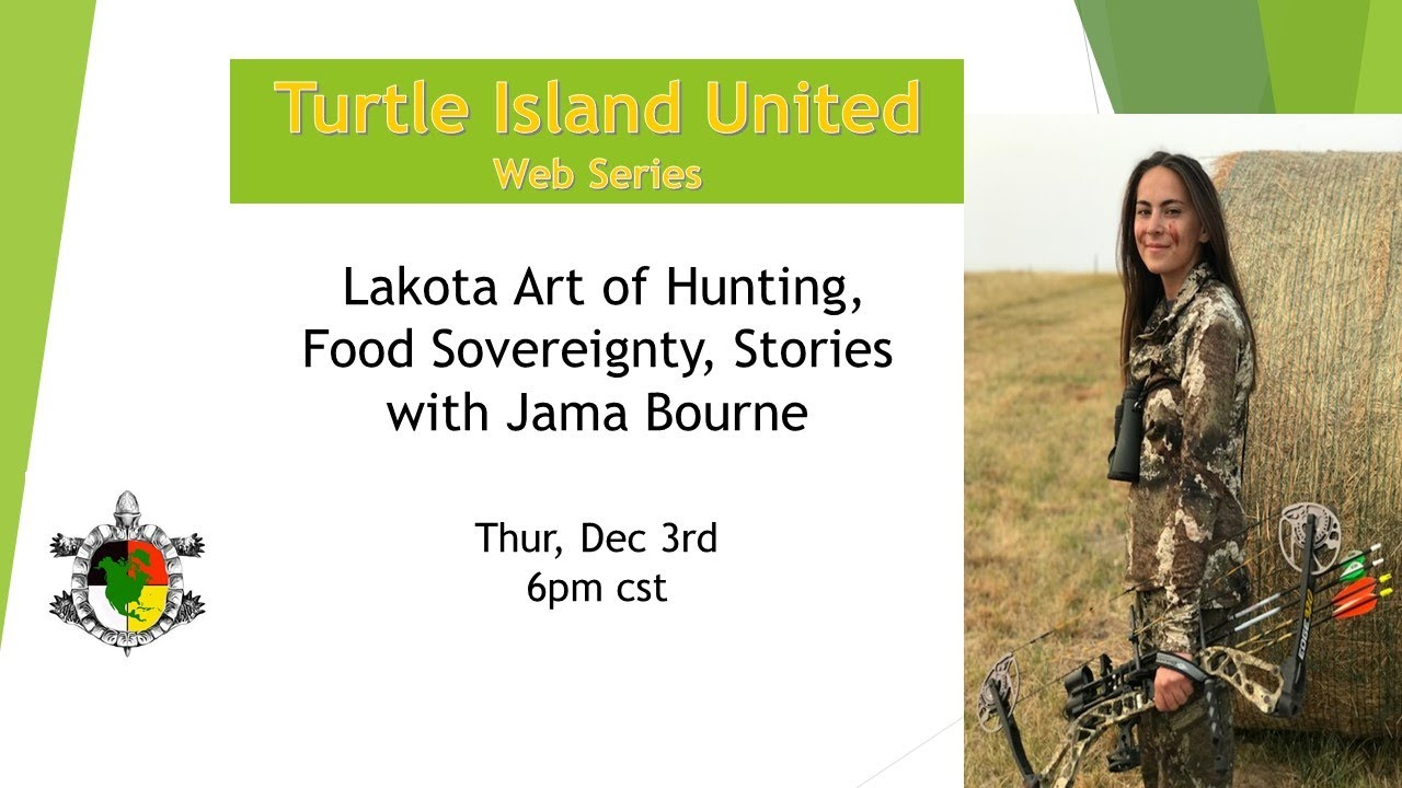 Lakota Art of Hunting, Food Sovereignty, Stories with Jamasine Bourne and Mike Coleman Sr.