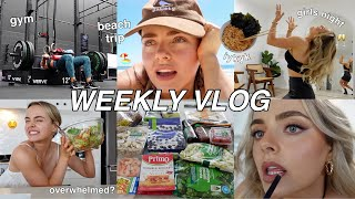 WEEKLY VLOG   GYM   DOING THINGS FOR YOURSELF   GIRLS NIGHT   CLOTHING HAUL   Conagh Kathleen