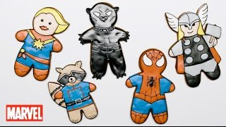 Marvel Gingerbread Cookies!