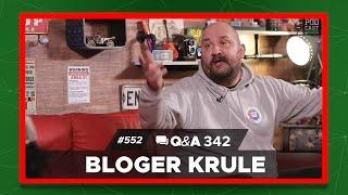 Podcast Inkubator #552 Q&A 342 -  Bloger Krule