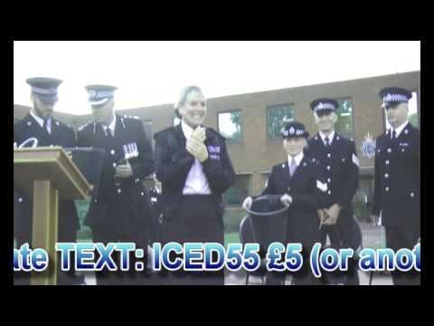 Chief Constable Colette Paul completes Ice Bucket Challenge!