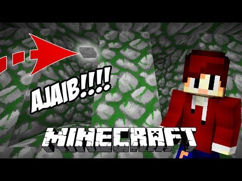 KEAJAIBAN SEBUAH BUTTON DI MINECRAFT - MINECRAFT FIND THE BUTTON