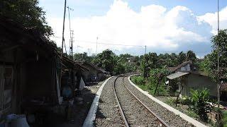 Mencari Bekas Percabangan Jalur Kereta Api SS Rangkasbitung - Labuan di Kota Rangkasbitung