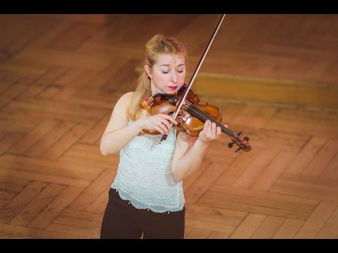 Vera Lopatina (Russia) - Stage 1 - International H. Wieniawski Violin Competition STEREO