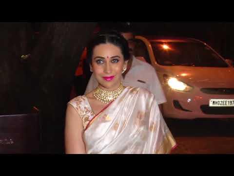 UNCUT - Anil Kapoor's Grand Diwali Party 2017 | Saif Ali Khan | Kareena Kapoor Khan