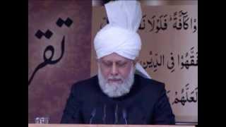 Khalifa meets Jamia Ahmadiyya institute graduates