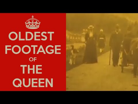The oldest footage of Queen Victoria I (and she is not amused)