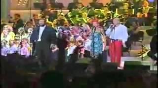 [VIDEO 3D] Luciano Pavarotti & Aqua - Funiculì, Funiculà. + TESTO