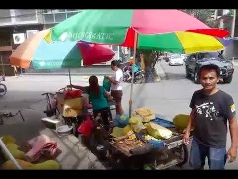 Philippines LIVE - Cebu City Walk before the Storm