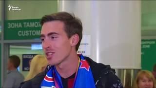 В Москве встретили вице чемпиона под нейтральным флагом