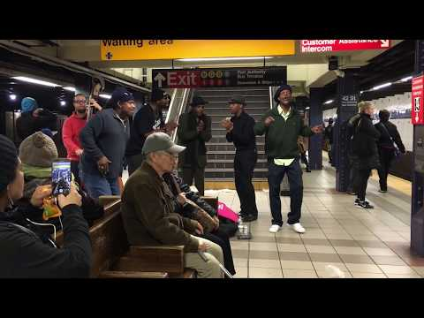 Higher And Higher live @ the NYC subway