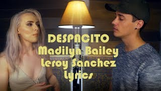 DESPACITO Beautiful Cover By Madilyn Bailey Leroy Sanchez Lyrics