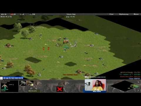 """Age of Empires   Chủ lực """"Egyp"""" cân map trong tay Chim Sẻ Đi Nắng Phần 1   Ngày 16-11-2018"""