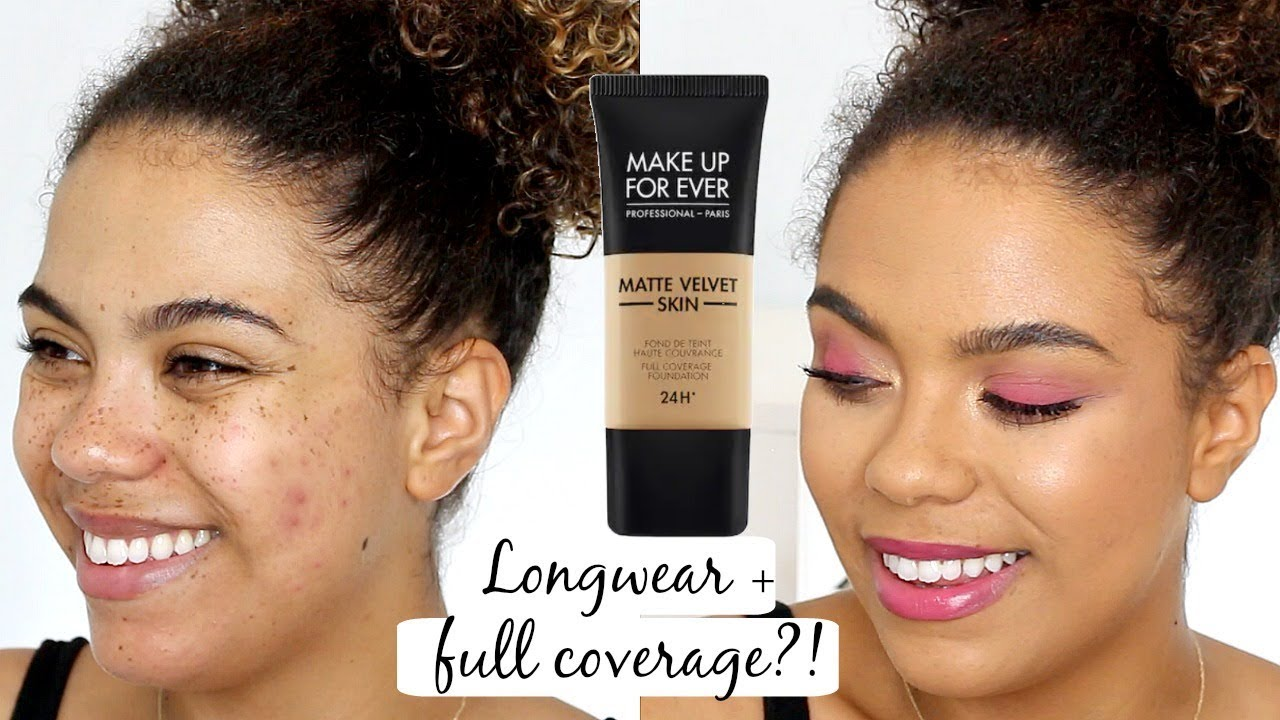 Make Up For Ever Matte Velvet Skin Review Oily Skin Wear Test Flash Photo