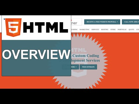 HTML: Overview